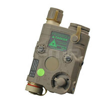 DE PEQ-15 White LED light Green laser IR Lenses Aiming Module Tail control
