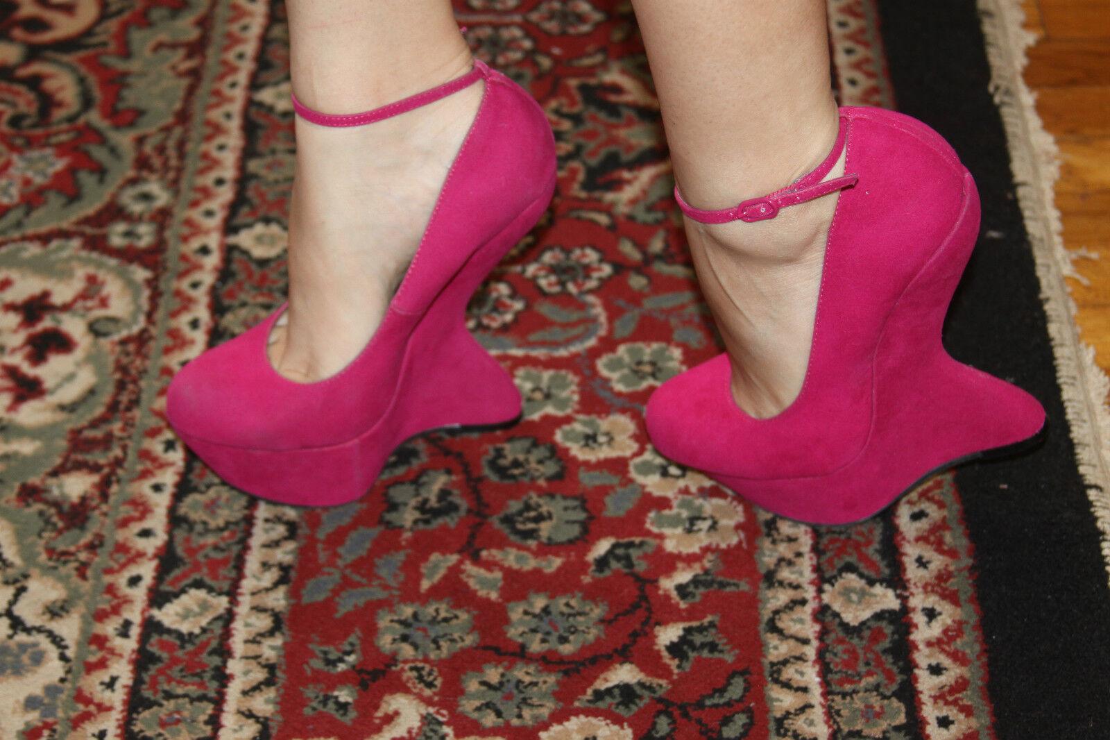 Steve Madden Gravityy-Plataforma rosado rosado rosado Tamaño 7.5M  salida
