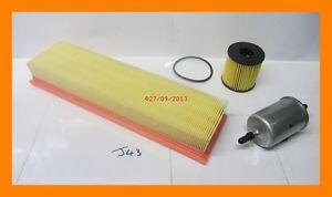 Service-Kit-Oil-Filter-Fuel-Filter-amp-Air-Filter-PEUGEOT-307-1-4-16V-Petrol