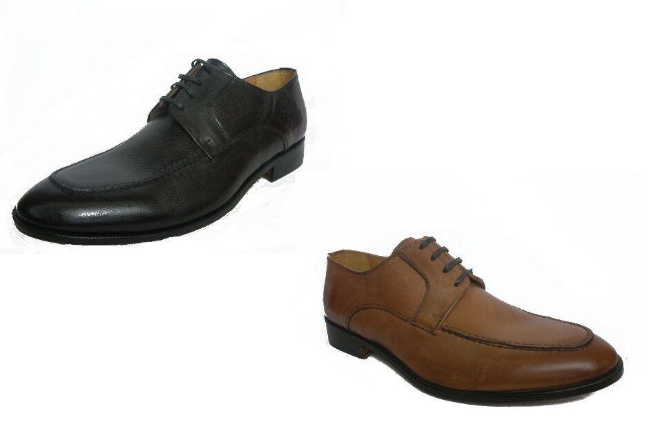 nuova esclusiva di fascia alta SCARPE MELLUSO UOMO CLASSICHE ELEGANTI U95020 BRANDY E NERO MADE MADE MADE IN ITALY scarpe  profitto zero