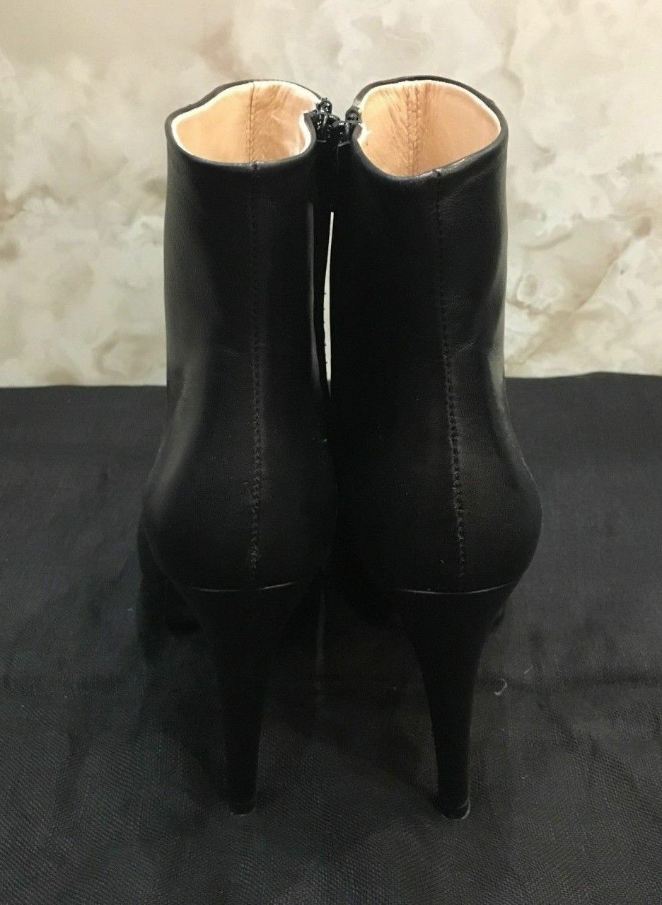 Barneys New York Black Black Black High Heel Booties, Size 38 color  Black EF74 - 24 9a6694