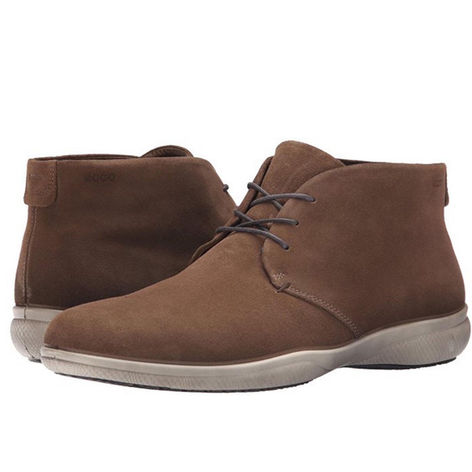 Ecco para hombre Grenoble Con Cordones Oxford Corte Bajo Casual Zapatos botas al Tobillo Chukka