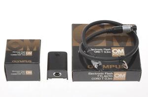 Olympus-TTL-Auto-Connecter-T20-e-cavo-TTL-Auto-Cord-T-0-3m-ben-tenuti