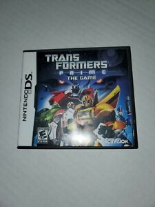 Transformers Prime: The Game (Nintendo DS, 2012) Complete Tested