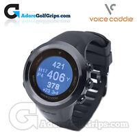 Voice Caddie - T2 Hybrid Golf Gps Watch & Tracker - 30,000 Courses - Black