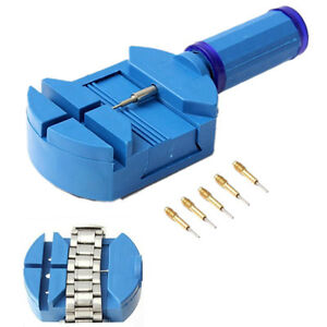 Watch-Band-Link-Pin-Remover-Strap-Adjuster-Opener-Repair-Tool-with-5-Pins-US