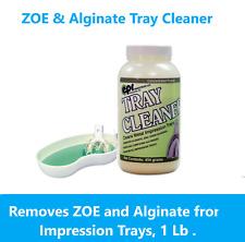 Dental Zoe Alginate Remover Amp Tray Cleaner Granules Easy Alginate Clean Up 1lb