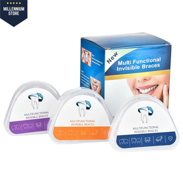 Orthodontic Teeth Corrector Mouth Guard Braces Retainer Tooth Straighten Gum