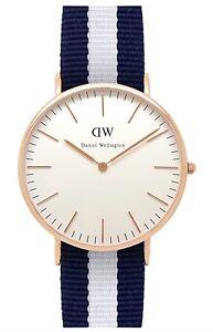 Daniel Wellington Watch * 0104DW Classic Glasgow 40MM NATO Strap #crzyj
