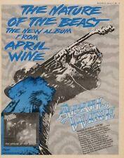 April Wine Tour advert 1981