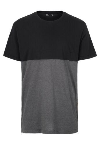 Solid Oversize T-Shirt Men SIXTO Jet Black