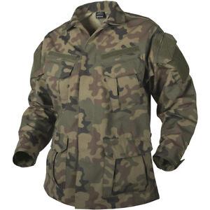 Pl Hombre Combate Chaqueta Helikon Próximo Sfu Caza Militar Camisa vx8Rq