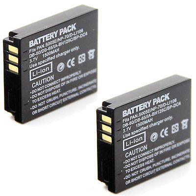 Compatible DB-65 Rechargeable Lithium Ion Battery DB-65 for RICOH G700 GR Digital III Maxsima GR Digital IV /& Kodak LB-080 G700SE