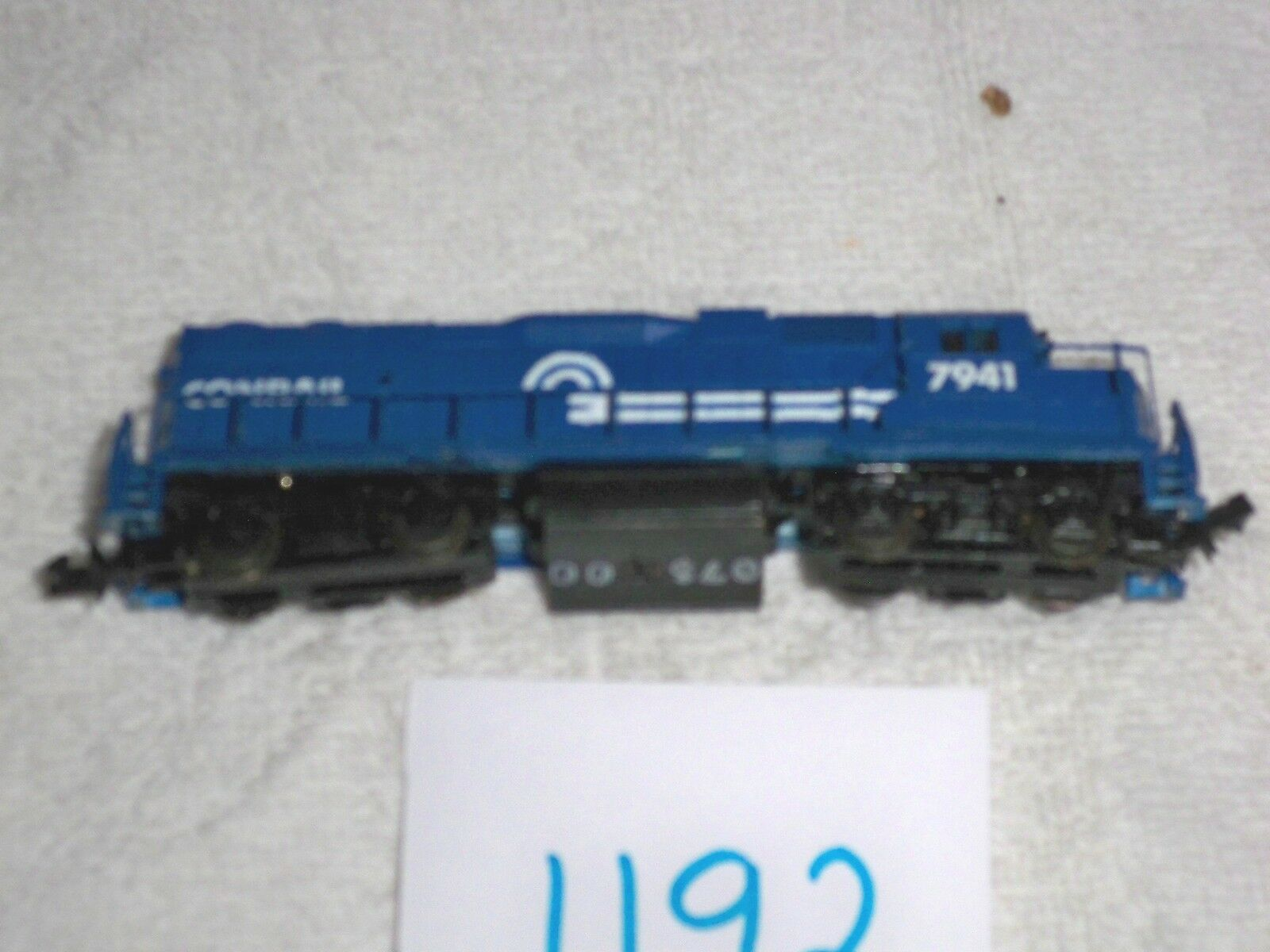 Life Like Like Like 07500 N Scale Conrail Locomotive 7846 N GP 38 b409a5
