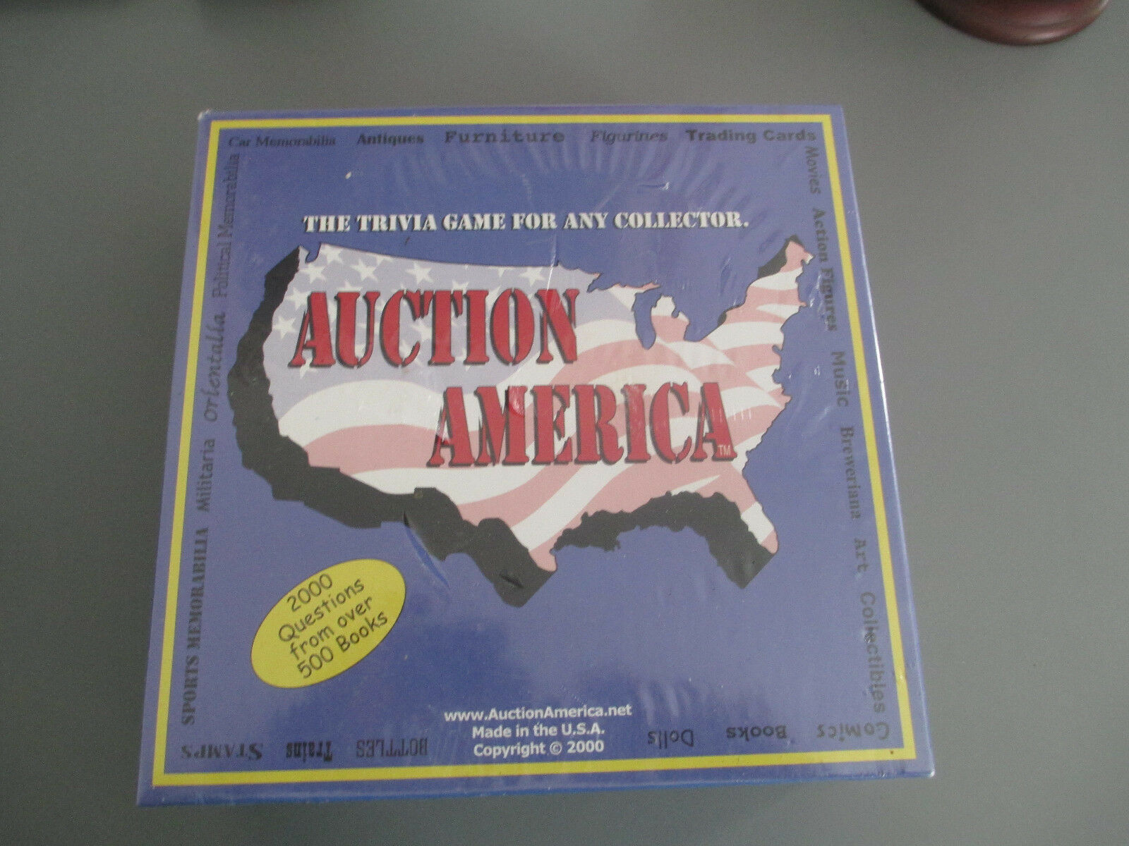 Auction America Trivia Game Game Game Collectors Memorabilia Trivia Game ages 16+ USA Made 7aa6c2