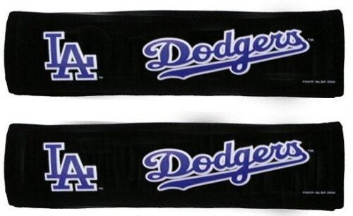 2PC Baseball LA Los Angeles Dodgers Seatbelt Pads Shoulder Protector