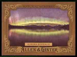 2016-TOPPS-ALLEN-amp-GINTER-AURORA-BOREALIS-NATURAL-WONDERS-NW-8