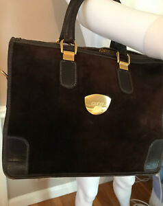 d4e966a6534 Image is loading Gorgeous-Vintage-Gucci-Bag-w-Certificate-of-Authenticity