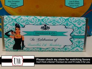 image is loading tiffany amp co candy bar wrappers favors party