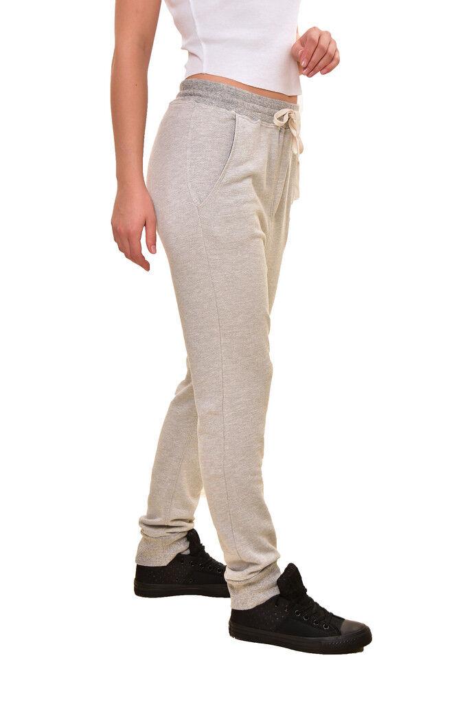 Altri donna donna donna Elastico Slash Tasca Pantaloni Della Tuta Grigio Heather S Rrp  193 BCF810 a79402