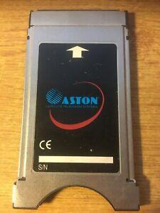 Aston i sistemi televisivi via Satellite TV Modulo di accesso condizionato CAM DVB PC-Card