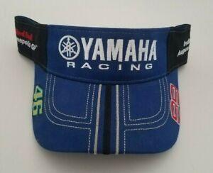 Vintage 2013 Yamaha Visor Indy MotoGP Valentino Rossi Jorge Lorenzo Red Bull