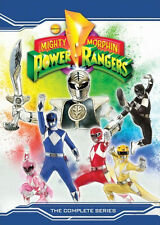 MIGHTY MORPHIN POWER RANGERS: THE COMPLETE SERIES - DVD - Region 1 - Sealed