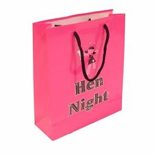 HEN NIGHT PARTY GIFT BAG PARTY BAG PINK, HEN PARTY GIFTS, GIFT FOR BRIDE TO BE
