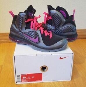 ba9ddfe72afd La foto se está cargando Nike-Lebron-9-Miami-Nights-Talla-10-totalmente-