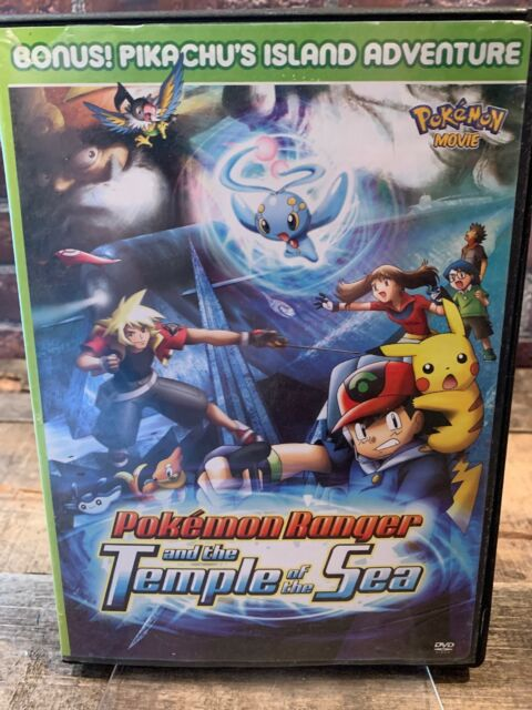 Pokemon Ranger The Temple Of The Sea 2 Dvd Set For Sale Online