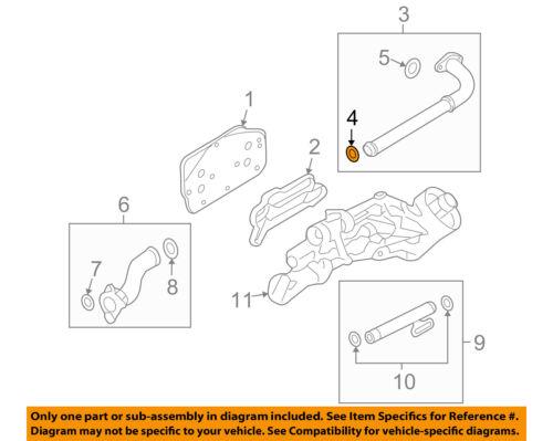 GM OEM-Oil Cooler Pipe Seal 55354068