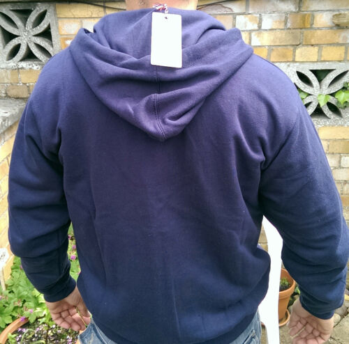 Brand new Navy LAMBRETTA Hooded sweatshirt TRACKSUIT TOP size XL