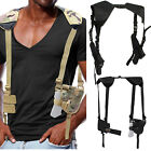 Tactical Army Underarm Shoulder Holster for Single Double Pistol Gun Adjustable