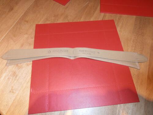 Vtg Van Heusen British Army  Semi-Stiff Collar Size 16