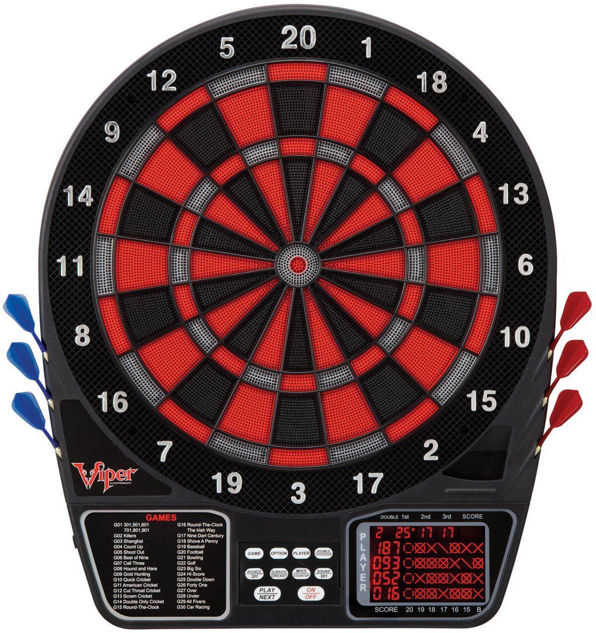 Viper 797 Electronic Soft Tip Dartboard.  Item 42-1017 NEW, Open Box