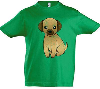 Dog I Damen T-Shirt Dogs Toon Comic Whiskers Love Addicted Lover Hund Hunde