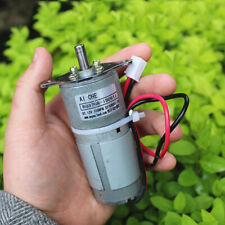New Listingdc6v12v 150rpm Slow Speed High Torque Micro 37mm Metal Gearbox Gear Motor Robot