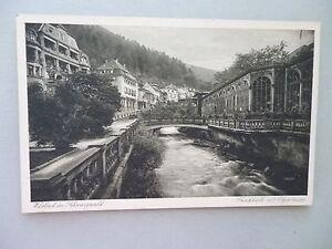Ansichtskarte-Wildbad-Schwarzwald-Frinkhalle-mit-Olgastrasse