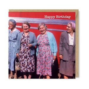 Image Is Loading Funny Unique Vintage Retro Birthday Card Gift Ladies