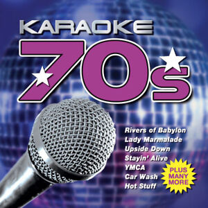 Details about Karaoke 70s CD - Car Wash Stayin Alive YMCA Hot Stuff and  more   Party Idea NEW
