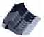 thumbnail 2 - Puma-Men-039-s-No-Show-Socks-8-pair-Black-or-White-Set-L-XL-Extended-Sz-GOLF-SOCK