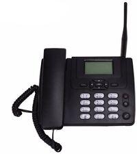 GSM Desk Landline Telephone With FM Radio 900/1800MHz Fixed Wireless Telephone