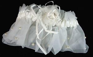 Wedding-Bridal-Garter-Ivory-New-Wedding-Accessories