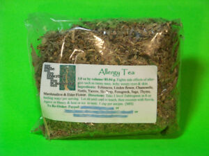 Allergy Tea  Weepy Itchy Eyes SInus Runny Nose Congestion Itch  4 oz  $7.25