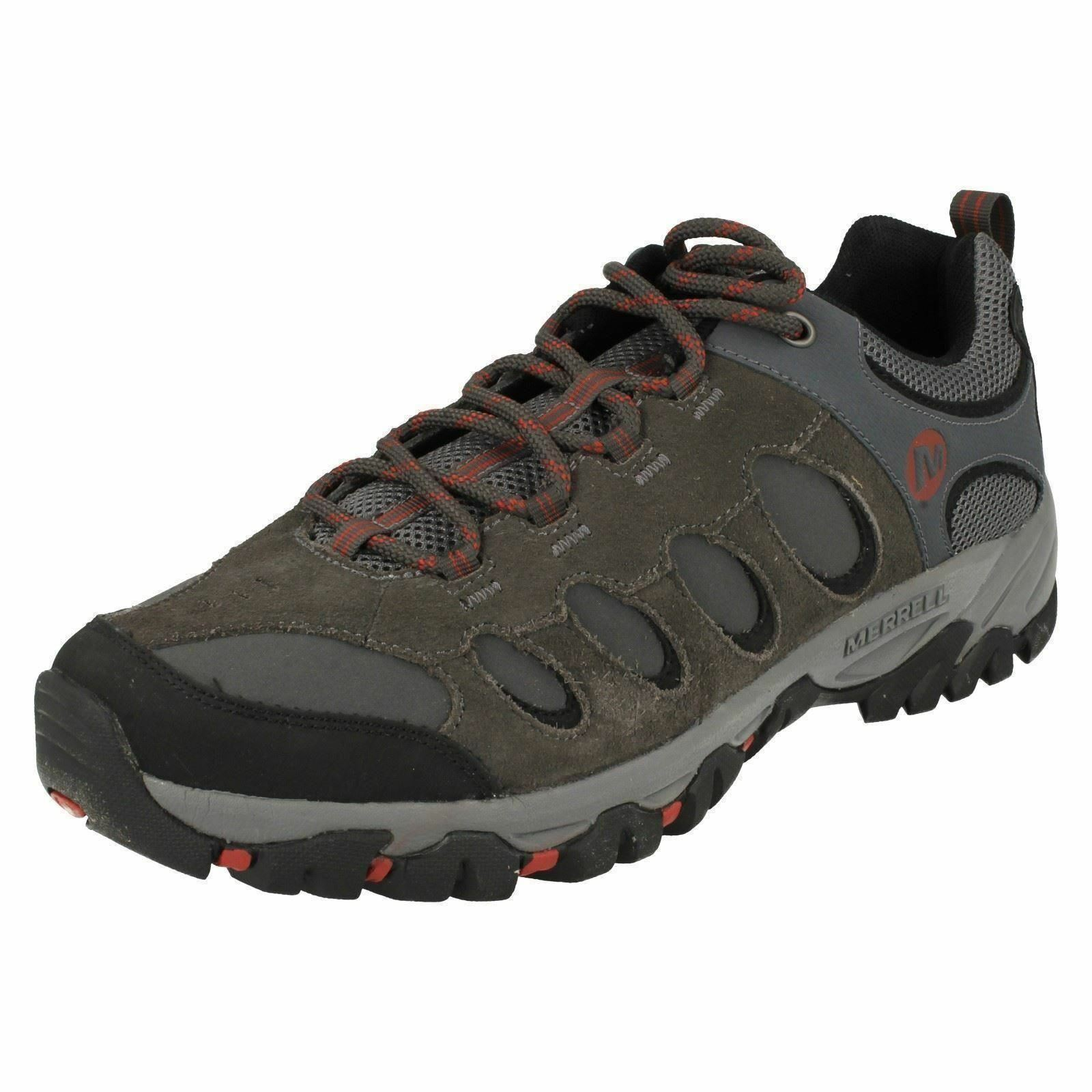 Uomo Leder Lace Ridgepass Up Merrel Walking Trainers Ridgepass Lace Bolt 6ecdc8