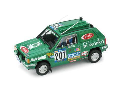 Fiat Panda 4X4 Parigi Dakar 1984 Brumm 1:43 R459 Modellino Auto Diecast