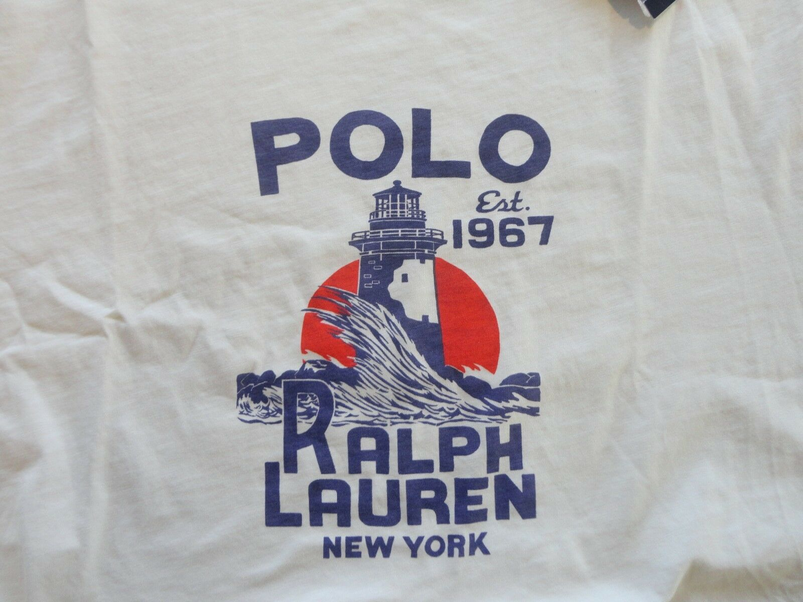 NWT Polo Ralph Lauren BLUE,GRAY Marine Outfitters,WHITE RL New York SS T-Shirts
