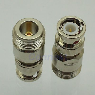 1pce N female jack to BNC male plug RF coaxial adapter connector