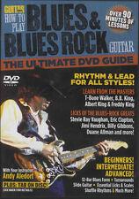 Mundo De Guitarra cómo jugar Blues & Rock Blues matrícula DVD aprende a jugar