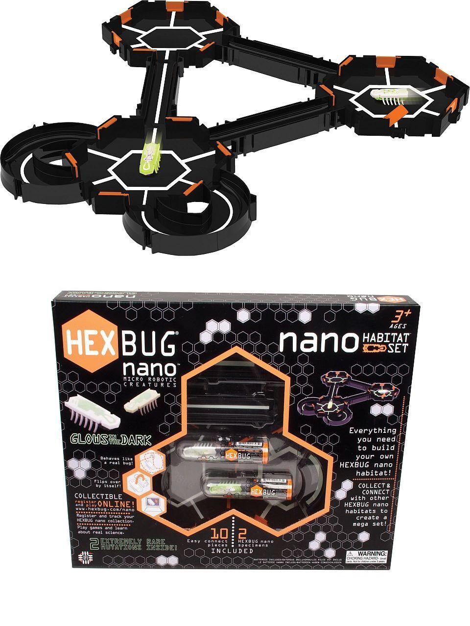 Hexbug Robot Habitat Pista Gioco Set Nottilucenti Nano Spielzeugroboter Gioco